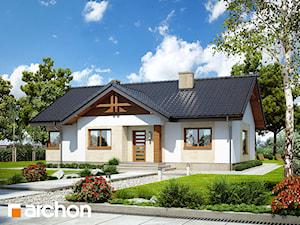 Projekt domu ARCHON+ Dom w leszczynowcach
