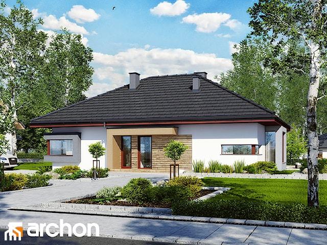 Projekt domu ARCHON+ Dom pod jarząbem (N)