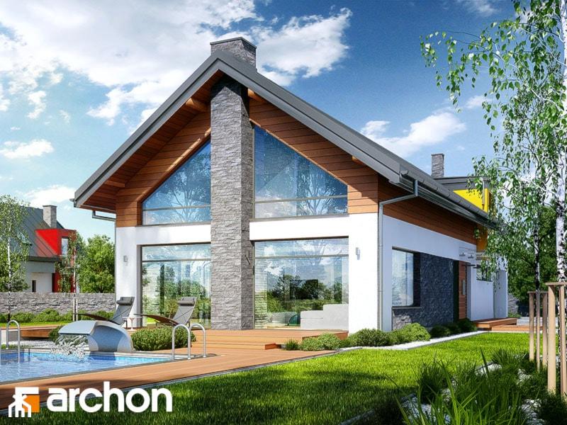 Dom W Laurach Projekt Archon Zdjecie Od Archon Biuro Projektow