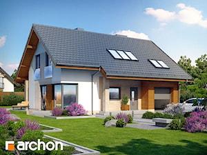 Projekt domu ARCHON+ Dom w wisteriach