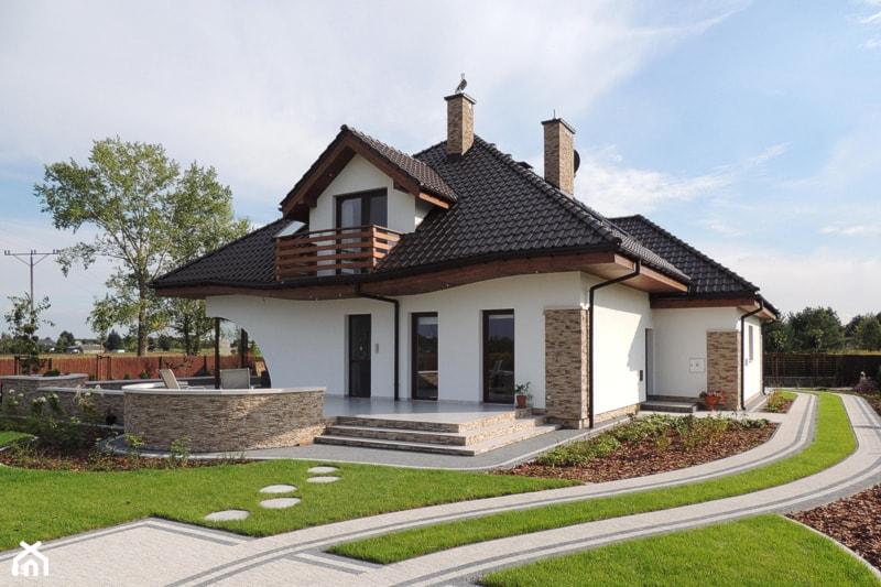 Dom w zefirantach (G2) - Realizacja - zdjęcie od ARCHON+ Biuro Projektów