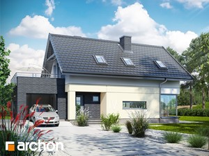 Projekt domu ARCHON+ Dom w cytryńcach