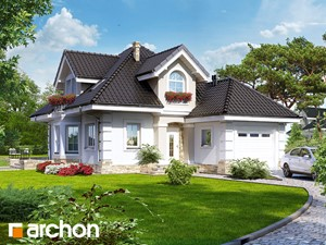 Projekt domu ARCHON+ Dom w rukoli