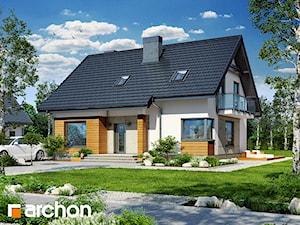 Projekt domu ARCHON+ Dom w jabłonkach 4
