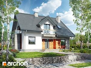 Projekt domu ARCHON+ Dom w filodendronach 3
