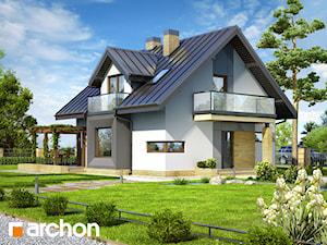 Projekt domu ARCHON+ Dom w rododendronach (N)