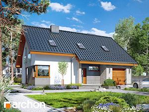 Projekt domu ARCHON+ Dom w żurawkach 4
