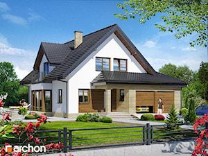 Projekt domu ARCHON+ Dom w świetliku (G2)