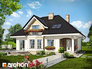 Projekt domu ARCHON+ Dom w awokado