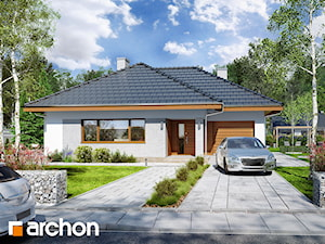 Projekt domu ARCHON+ Dom w lilakach 2