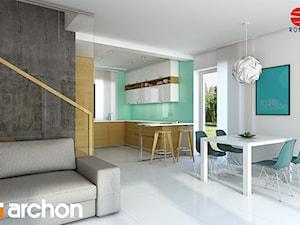 Dom w pięknotkach - Strefa dzienna - zdjęcie od ARCHON+ Biuro Projektów