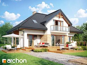 Projekt domu ARCHON+ Dom w kalateach 2