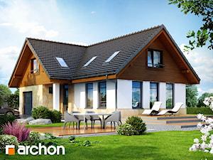 Projekt domu ARCHON+ Dom w mango