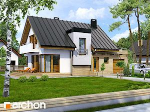 Projekt domu ARCHON+ Dom w amarylisach
