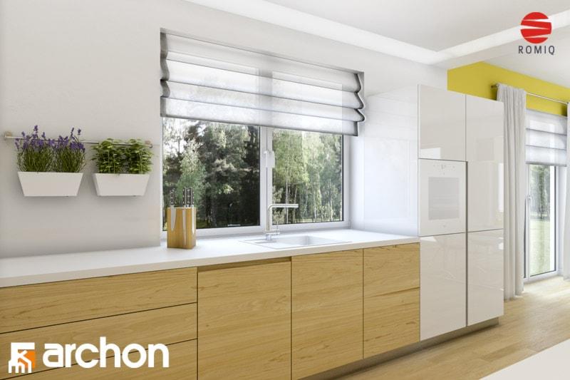 Dom w idaredach (G2) - Aranżacja kuchni - zdjęcie od ARCHON+ Biuro Projektów