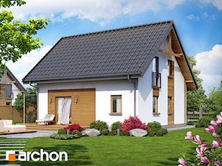 Projekt domu ARCHON+ Dom w zielistkach