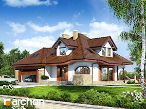Projekt domu ARCHON+ Dom w zefirantach (G2)