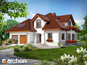 Projekt domu ARCHON+ Dom w bergamotkach (G2)