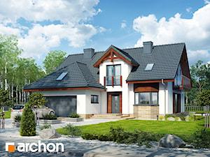 Projekt domu ARCHON+  Dom w kalateach 7 (G2)