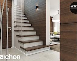 Dom w aurorach - Schody - zdjęcie od ARCHON+ Biuro Projektów