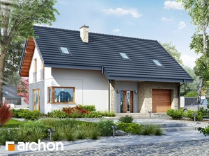 Projekt domu ARCHON+ Dom w brunerach