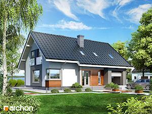 Projekt domu ARCHON+ Dom w złoci