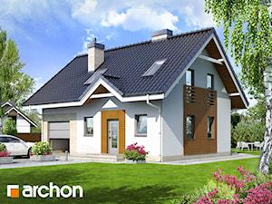 Projekt domu ARCHON+ Dom w borówkach 2