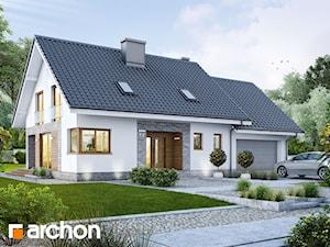 Projekt domu ARCHON+ Dom w srebrzykach (G2)