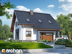 Projekt domu ARCHON+ Dom w pięknotkach