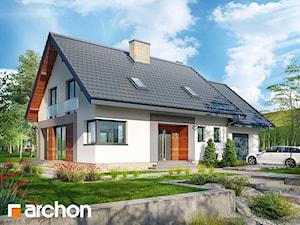 Projekt domu ARCHON+ Dom w srebrzykach
