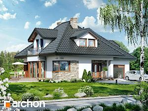Projekt domu ARCHON+ Dom w czarnuszce 2