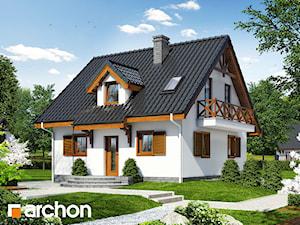 Projekt domu ARCHON+ Dom w poziomkach 3 (P)