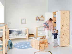 Pokój niemowlęcy - jak się zmienia, gdy dziecko rośnie?