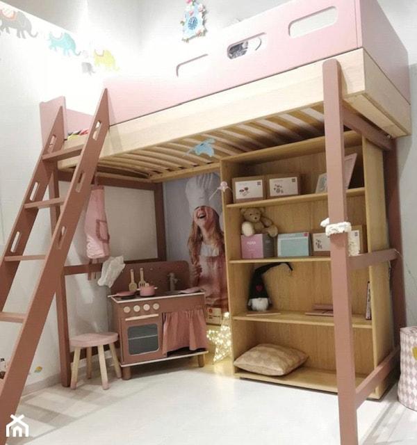 Łóżko wysokie POPSICLE - zdjęcie od Flexa