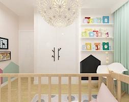 DOM 73M² – LUBOŃ K.POZNANIA - Mały beżowy pokój dziecka dla chłopca dla dziewczynki dla niemowlaka dla malucha, styl skandynawski - zdjęcie od Devangari Design