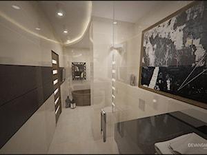 Elegancka łazienka i kuchnia