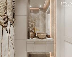 umywalka w łazience - zdjęcie od Stylownia Wnętrz Projektownie i aranżacja wnętrz - Homebook
