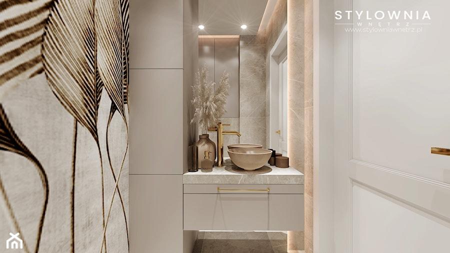 umywalka w łazience - zdjęcie od Stylownia Wnętrz Projektownie i aranżacja wnętrz