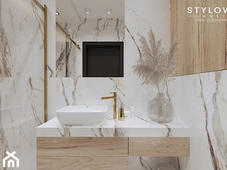 Aranżacje wnętrz - Łazienka: Mała łazienka z prysznicem - Łazienka, styl nowoczesny - Stylownia Wnętrz Projektownie i aranżacja wnętrz. Przeglądaj, dodawaj i zapisuj najlepsze zdjęcia, pomysły i inspiracje designerskie. W bazie mamy już prawie milion fotografii!