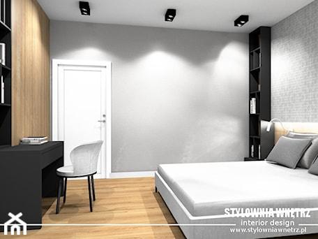 Aranżacje wnętrz - Sypialnia: pokój gościnny - Stylownia Wnętrz Projektownie i aranżacja wnętrz. Przeglądaj, dodawaj i zapisuj najlepsze zdjęcia, pomysły i inspiracje designerskie. W bazie mamy już prawie milion fotografii!