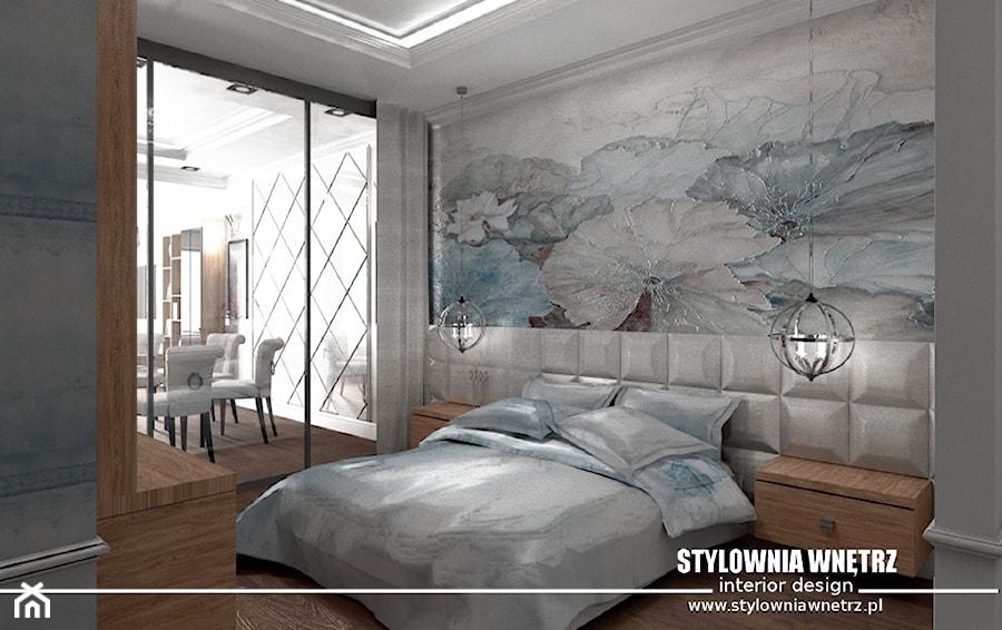 Tapeta W Sypialni Zdjęcie Od Stylownia Wnętrz Projektownie