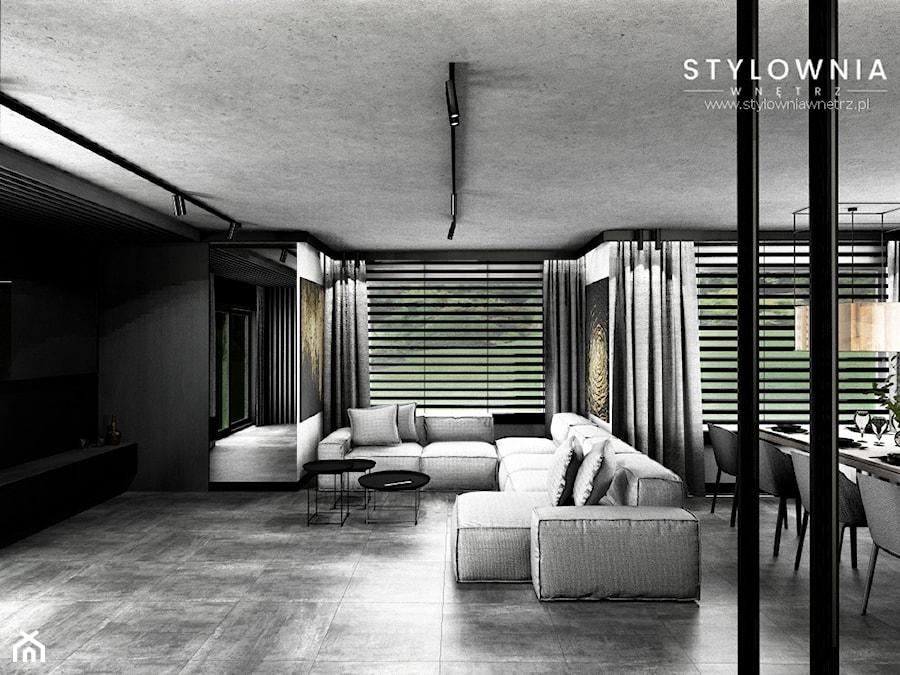 narożnik lub sofa w salonie - zdjęcie od Stylownia Wnętrz Projektownie i aranżacja wnętrz