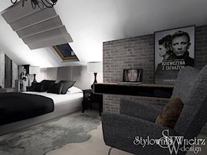 projekt sypialni - okolice Krakowa