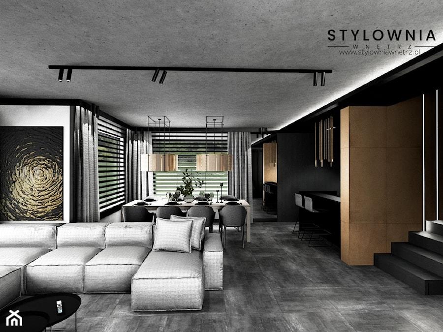 oświetlenie w salonie - zdjęcie od Stylownia Wnętrz Projektownie i aranżacja wnętrz