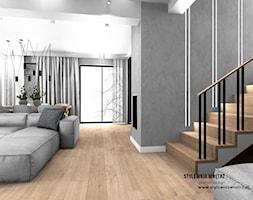 oświetlenie schodów - zdjęcie od Stylownia Wnętrz Projektownie i aranżacja wnętrz - Homebook