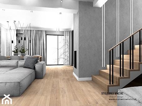 Aranżacje wnętrz - Salon: oświetlenie schodów - Stylownia Wnętrz Projektownie i aranżacja wnętrz. Przeglądaj, dodawaj i zapisuj najlepsze zdjęcia, pomysły i inspiracje designerskie. W bazie mamy już prawie milion fotografii!