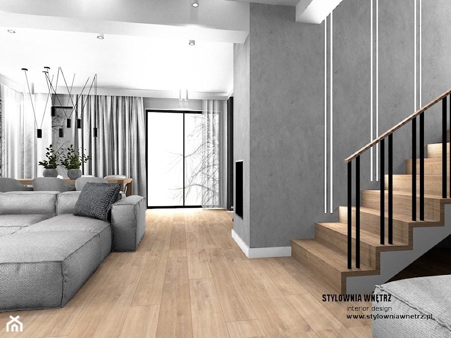 oświetlenie schodów - zdjęcie od Stylownia Wnętrz Projektownie i aranżacja wnętrz