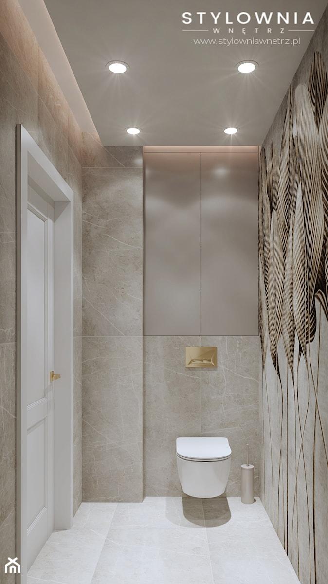 aranżacja łazienki - zdjęcie od Stylownia Wnętrz Projektownie i aranżacja wnętrz