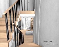 balustrada przy schodach - zdjęcie od Stylownia Wnętrz Projektownie i aranżacja wnętrz - Homebook