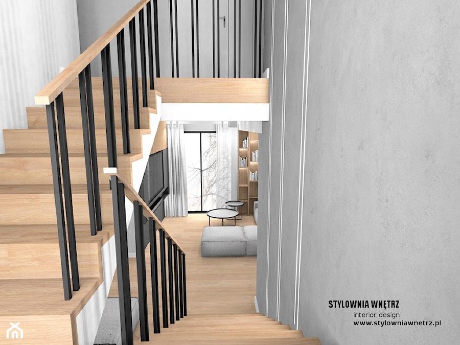 balustrada przy schodach - zdjęcie od Stylownia Wnętrz Projektownie i aranżacja wnętrz